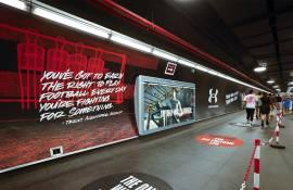 Under Armour: lo sport è OOH con IGPDecaux