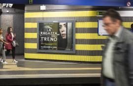 RAI CINEMA LA RAGAZZA DEL TRENO -  17/10/2016 - circuito a copertura landsacape - ROMA