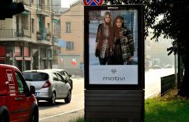 MIROGLIO FASHION MOTIVI -  17/10/2016 - adesiva portrait - TORINO