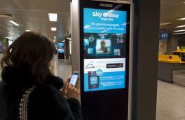 Social LCD Aeroporto