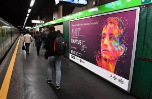 IGPDecaux Out of Home Milano Circuito a Copertura Landscape per Sony