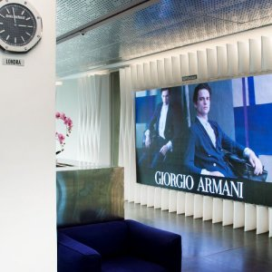 Maxi LED videowall Linate for Armani