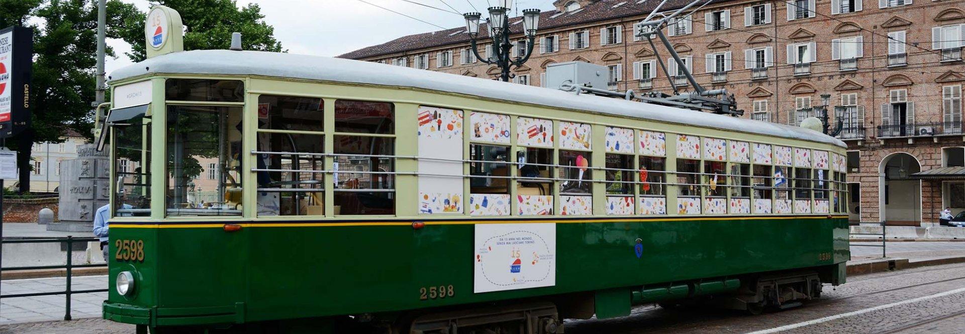 Tram speciale #Grom15 Torino