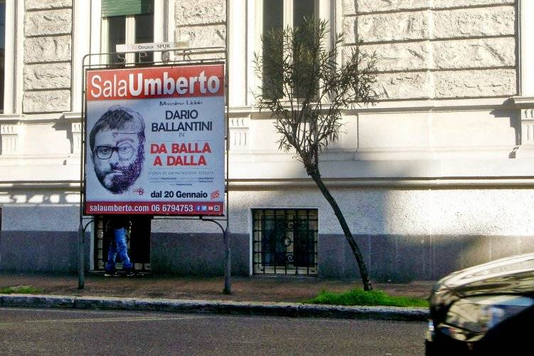 IGPDecaux Out Of Home 1 to 5 Sheet Panels in Rome for Umberto Sala