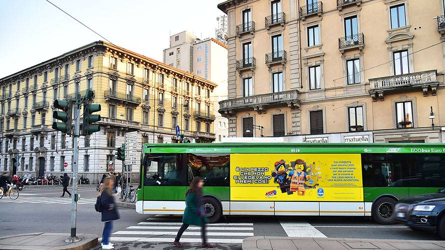 IGPDecaux Milan Landscape Stickers for Chiquita