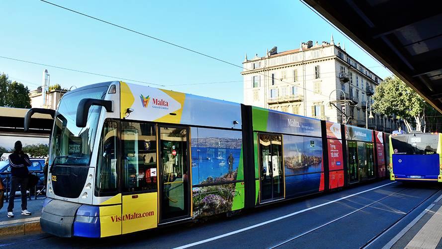 IGPDecaux Torino Full-Wrap per Ente Turismo Malta