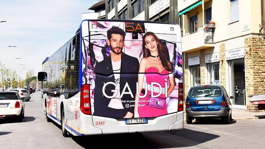 Pubblicità Firenze IGPDecaux FullBack per Gaudì