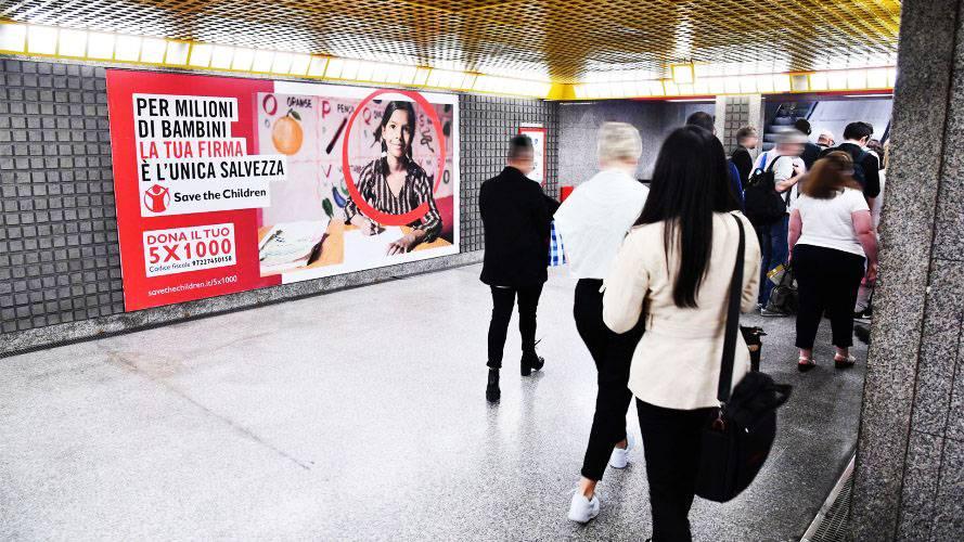 IGPDecaux Milano Circuito a Copertura Landscape per Save The Cildren