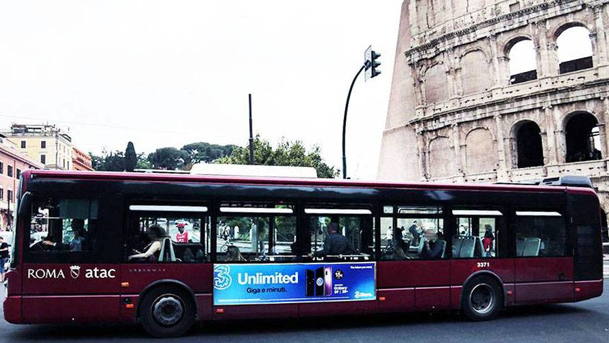 IGPDecaux Roma Side Banner per Wind