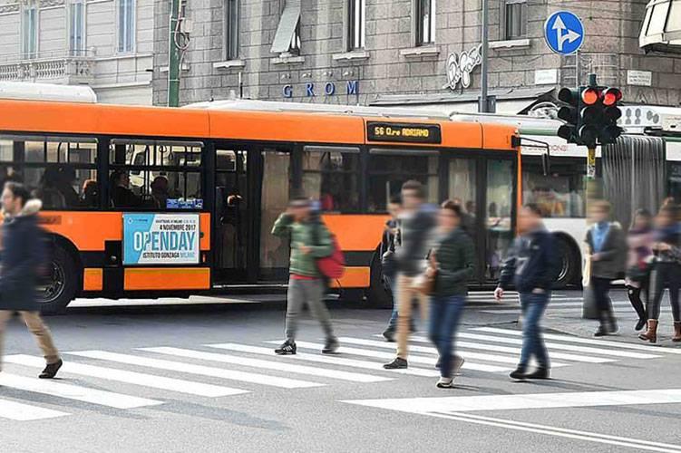 IGPDecaux Milano Tabella 120/200x70 per Open Day Istituto Gonzaga